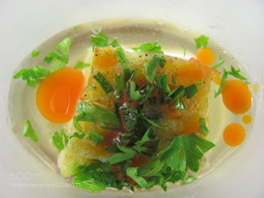 Tortillas in tomato's water