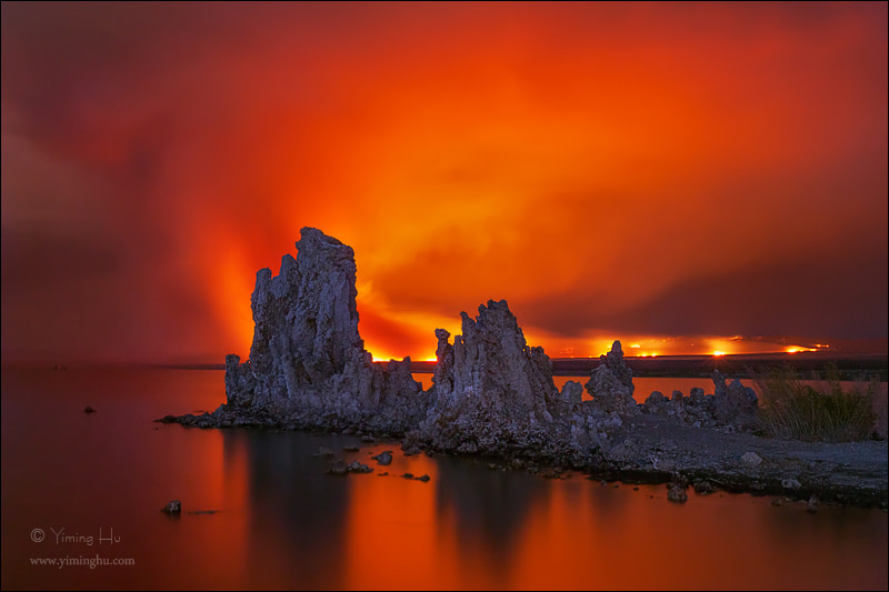 Photograph Set Fire to the Sky by Yiming Hu on 500px
