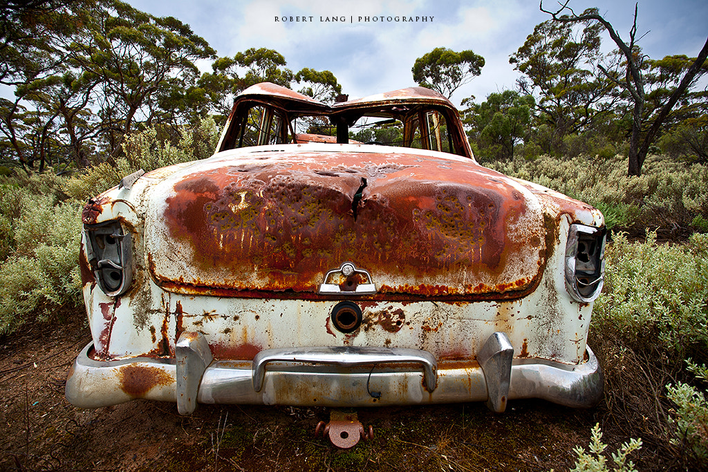 Photograph Abandoned rusted old car, Australia by Robert Lang on 500px