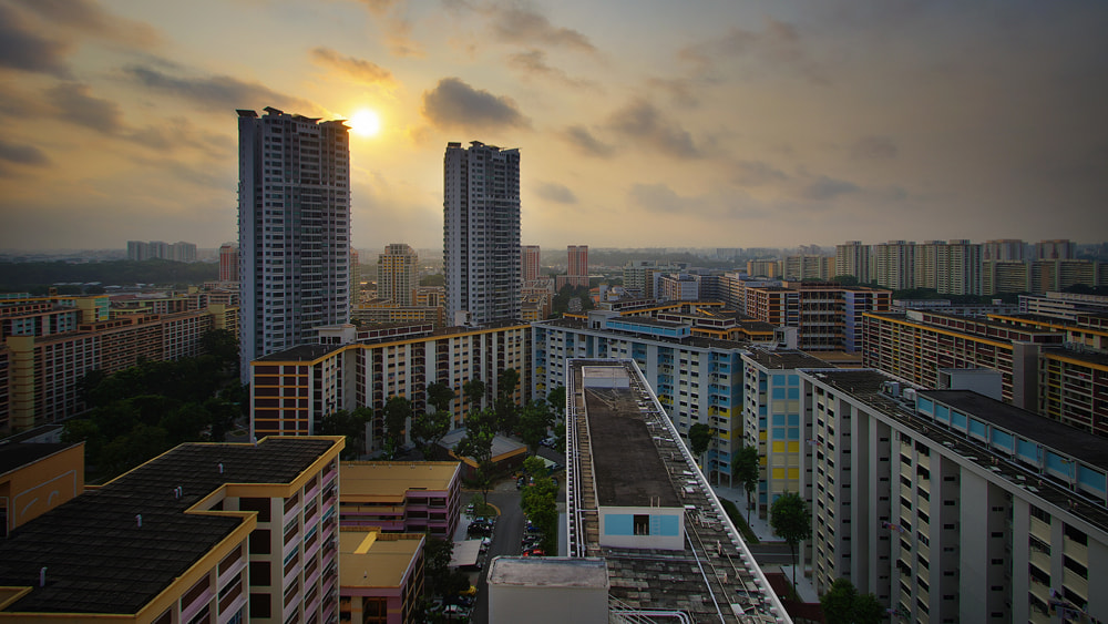 Photograph Two Towers by WK Cheoh on 500px