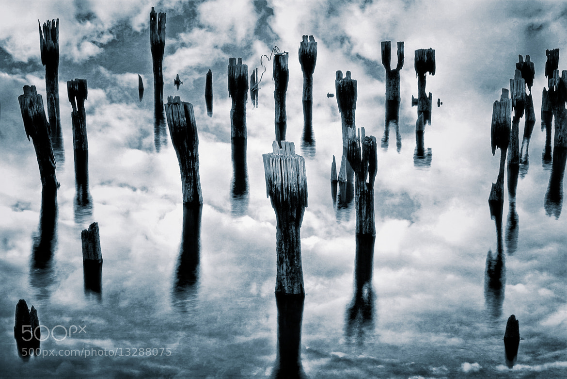 Photograph Pier Remains by Frank Grace on 500px