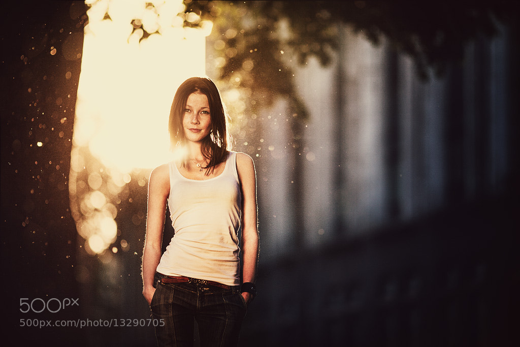 Photograph Sunny girl)) by Daniil Kontorovich on 500px