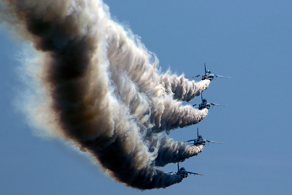 Photograph Blue Impulse by Jose Renteria on 500px