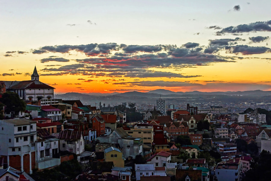 Antananarivo at twilight by Patrick Petitjean on 500px.com