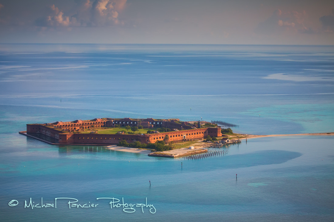 Photograph Aerial View of Fort Jefferson by Michael Pancier Photography on 500px