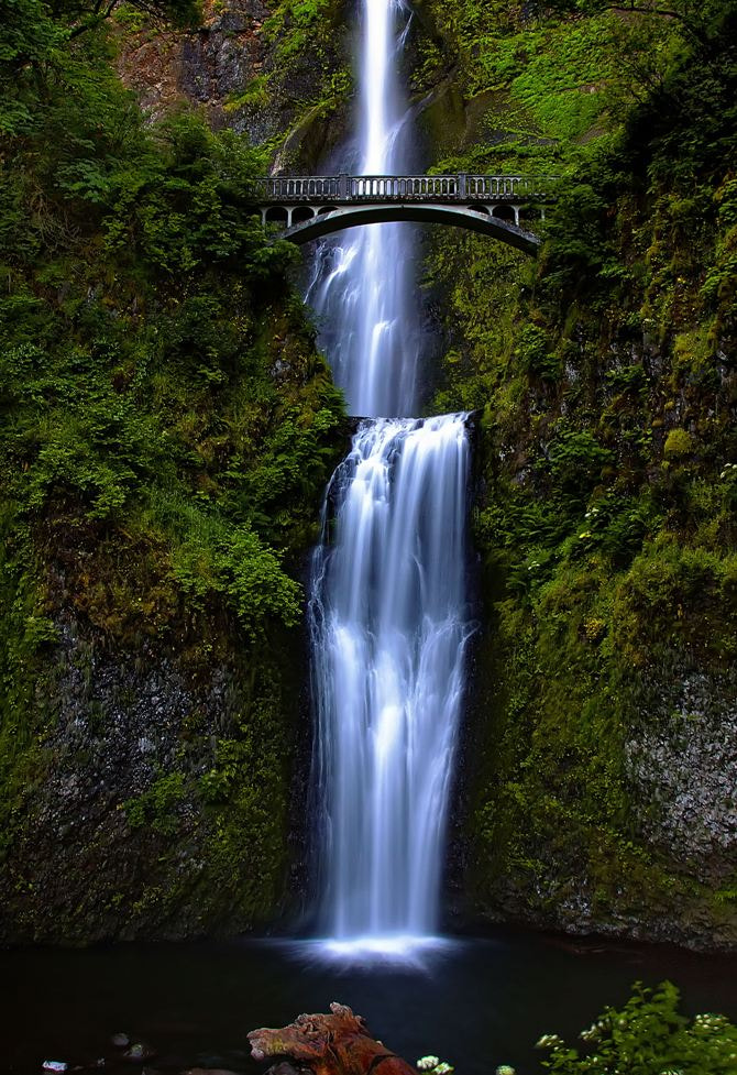 Photograph Multnomah Falls by Leasha Hooker on 500px