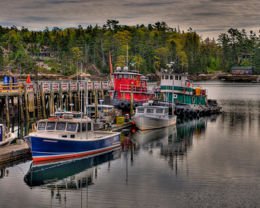 Photograph  Boothbay Harbor - Maine by Kelly & Robert Walters on 500px