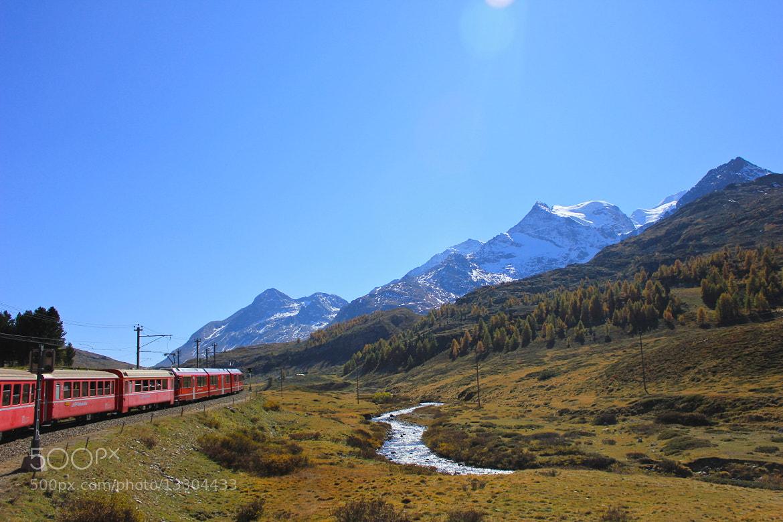Photograph Bernina Express by Chris Sleeper on 500px