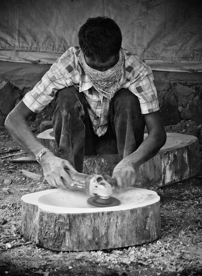 Photograph The Carpenter by Kumaran Shanmugam on 500px