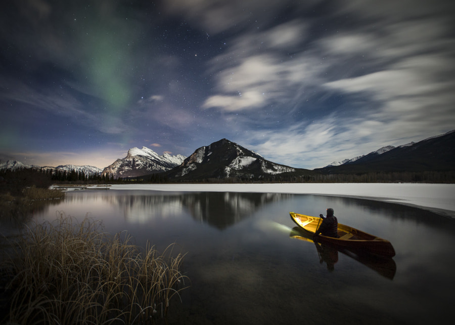 Last Paddler by Paul Zizka on 500px.com