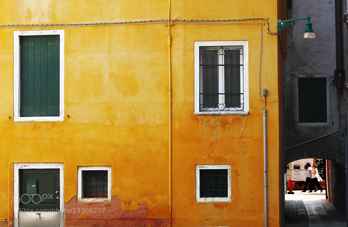 Photograph Venetian ochre by Tim T on 500px