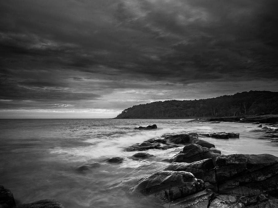Noosa Heads Qld Australia B&W by Travis Chau on 500px.com