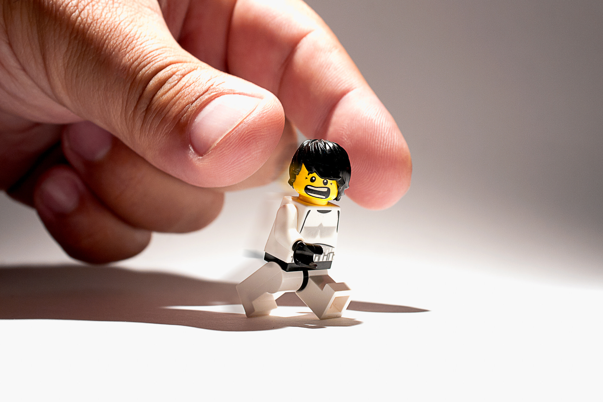 Photograph just a Lego minifig  by Andreas D. on 500px
