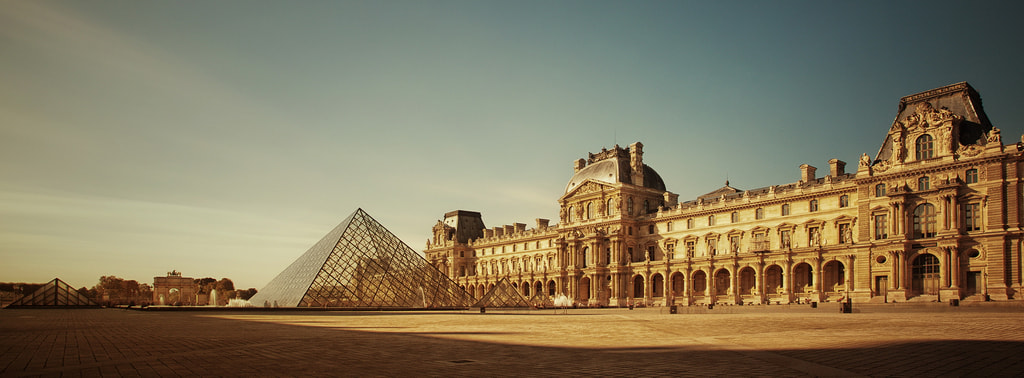 Photograph The Louvre and its pyramid by Laurent DUFOUR on 500px