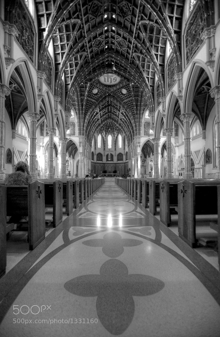 Photograph Holy Name Cathedral (b/w) by Air Butchie on 500px