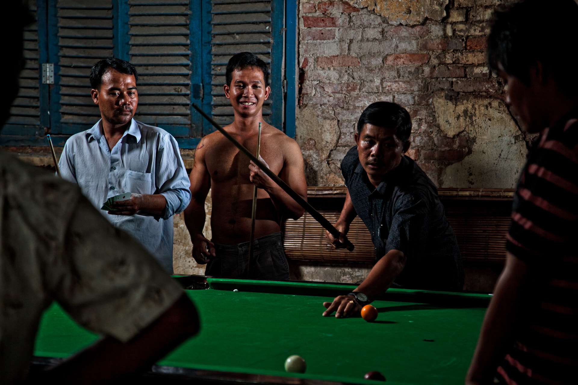 Photograph Phnom Penh snooker hall. by F8 Photography on 500px