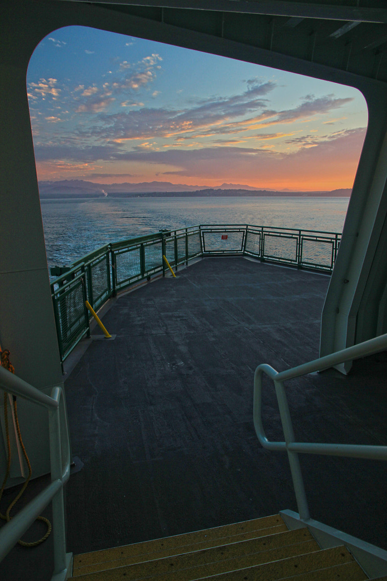 Photograph Washington State Ferry Ride by Andy  Porter on 500px