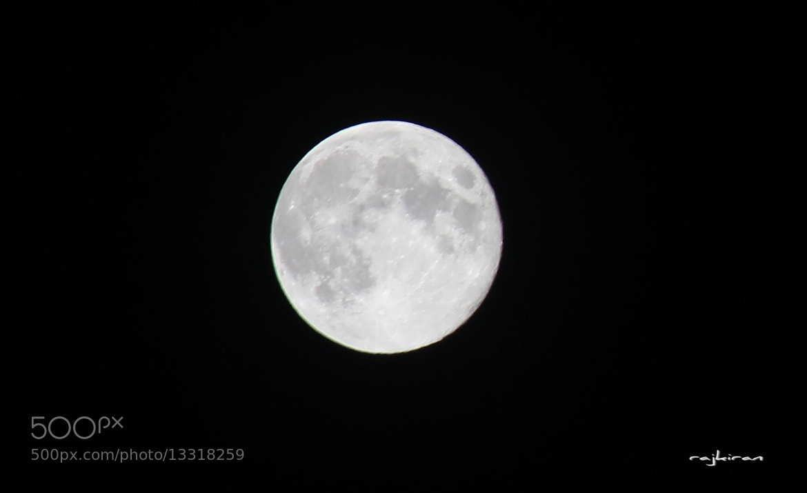 Photograph Moon by Rajkiran Ghanta on 500px