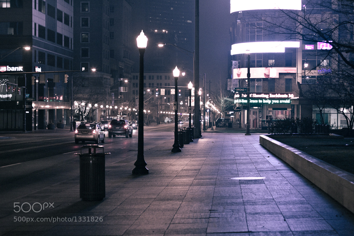 Photograph Quiet downtown by Justin Marimon on 500px