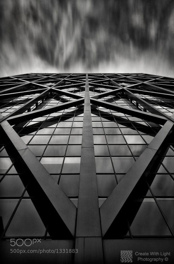 "Photograph ""Steely Symmetry"" - Create With Light Photography © by Grant Murray Photography on 500px"