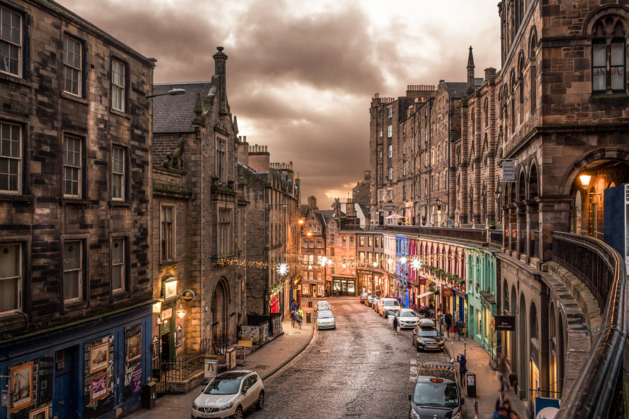 Victoria st, Edinburgh by Stanislav Pertl on 500px.com