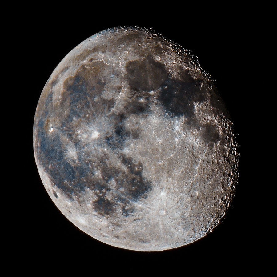 Photograph .: Waning Gibbous (Color) :. by Jon Rista on 500px