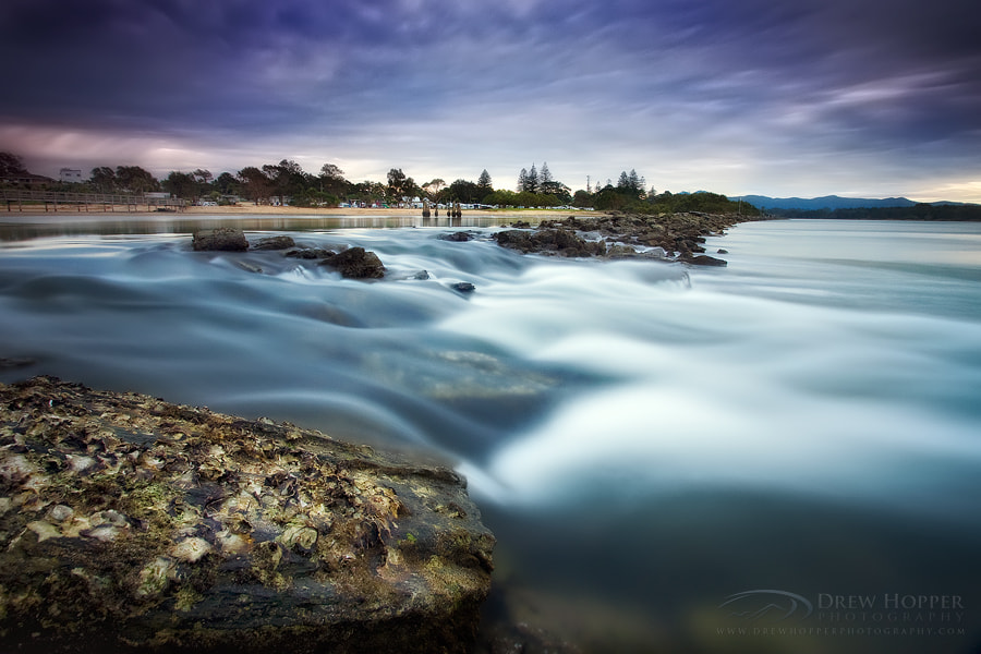 Photograph Urunga Breakwall by Drew Hopper on 500px