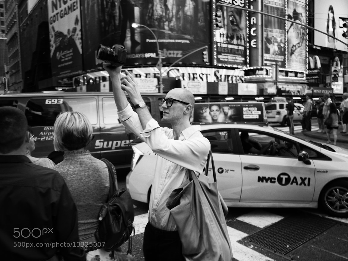 Photograph Times Square Tourist by C.K. Sample III on 500px