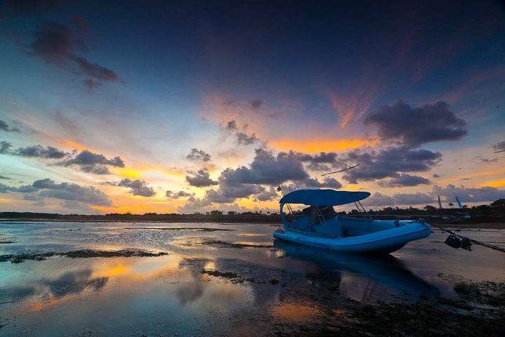 Photograph Just Alone When Low Tide by agus styawan on 500px