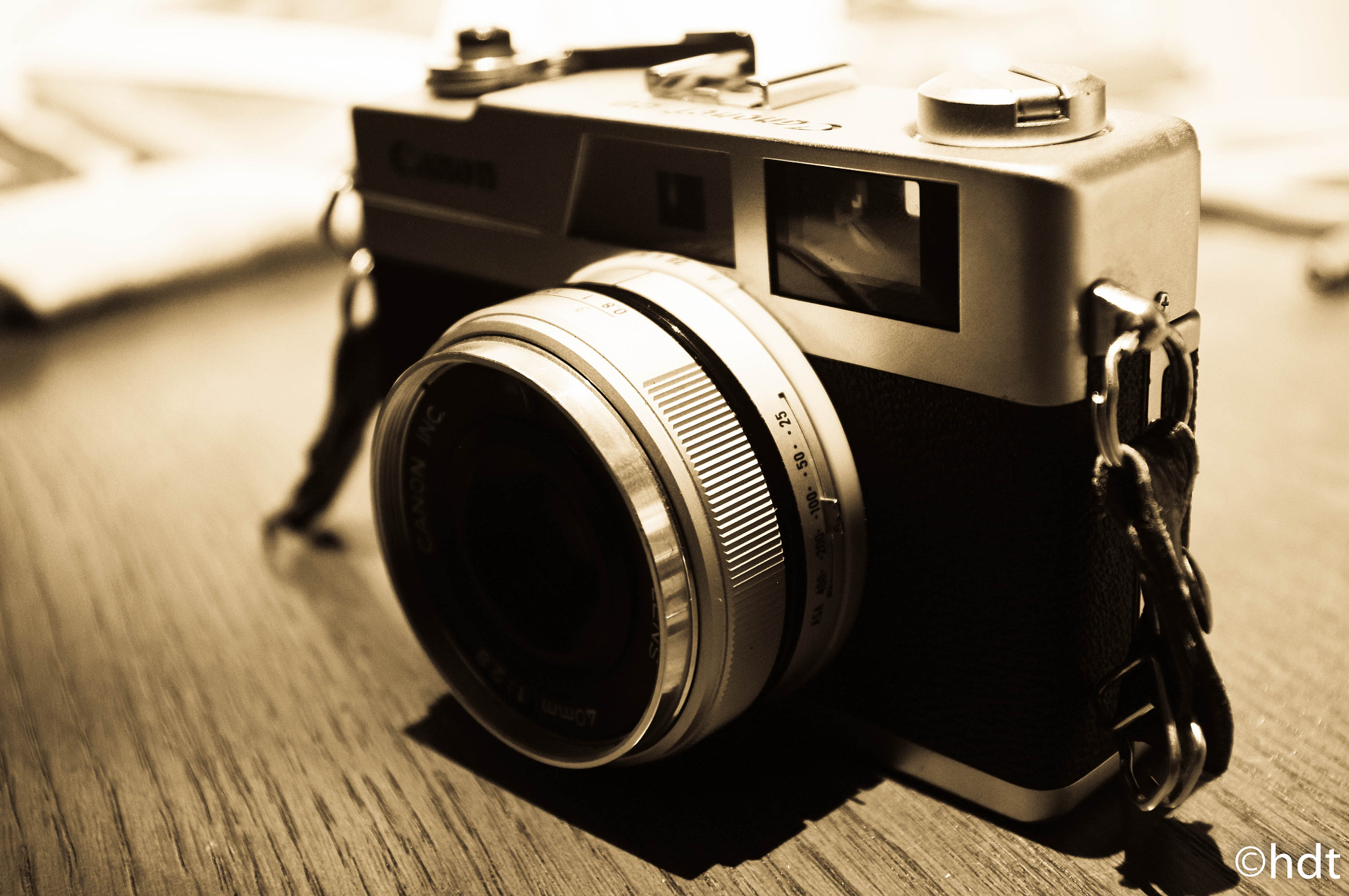 Photograph The amazing, The glorious, Canonet 28. by Jonathan Kiestler on 500px