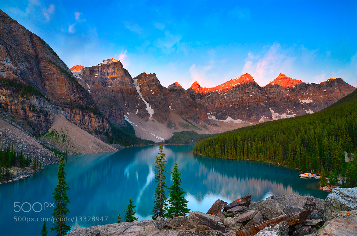 Photograph Valley of Ten Peaks by Anura Fernando on 500px