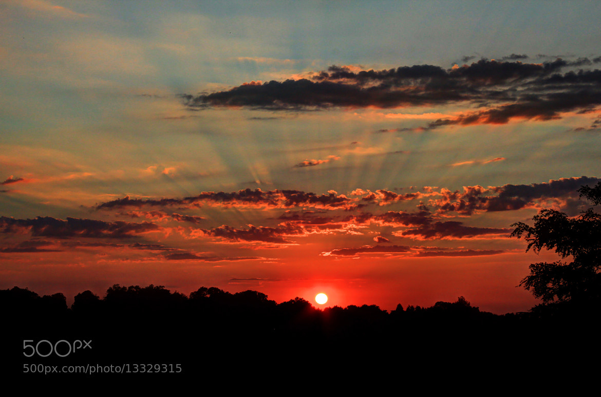 Photograph Sun Rays Showing Off by Mike & Nicole Stuart on 500px