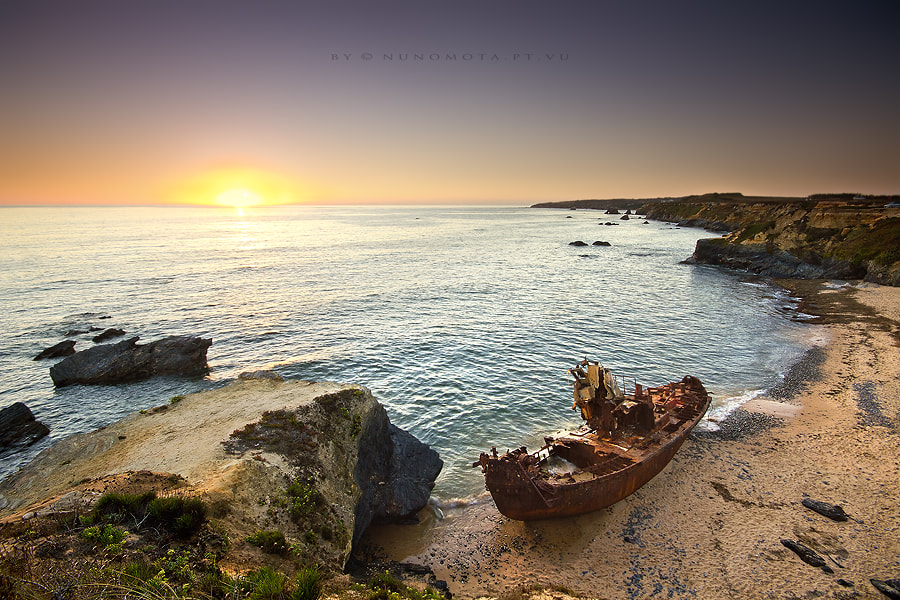 Photograph rest and rust at sunset by Nuno Mota on 500px