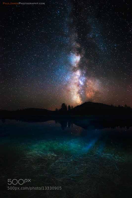 Photograph Milky Way High by Paul James on 500px