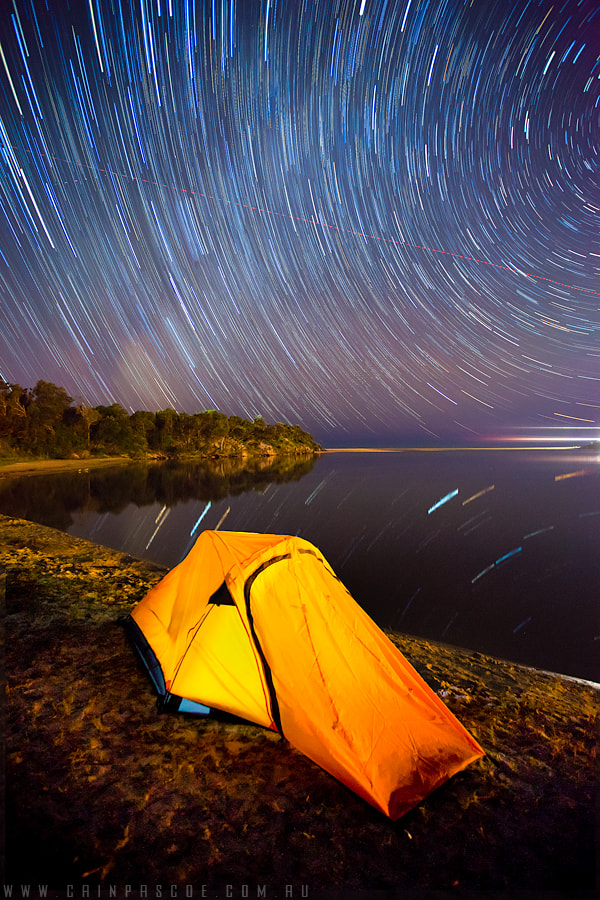 Photograph Camping By The Lake by Cain Pascoe on 500px