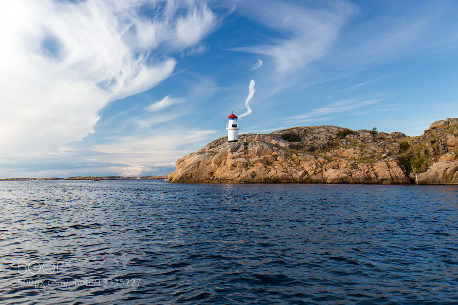 Photograph Smoking lighthouse by Alexander Dragunov on 500px