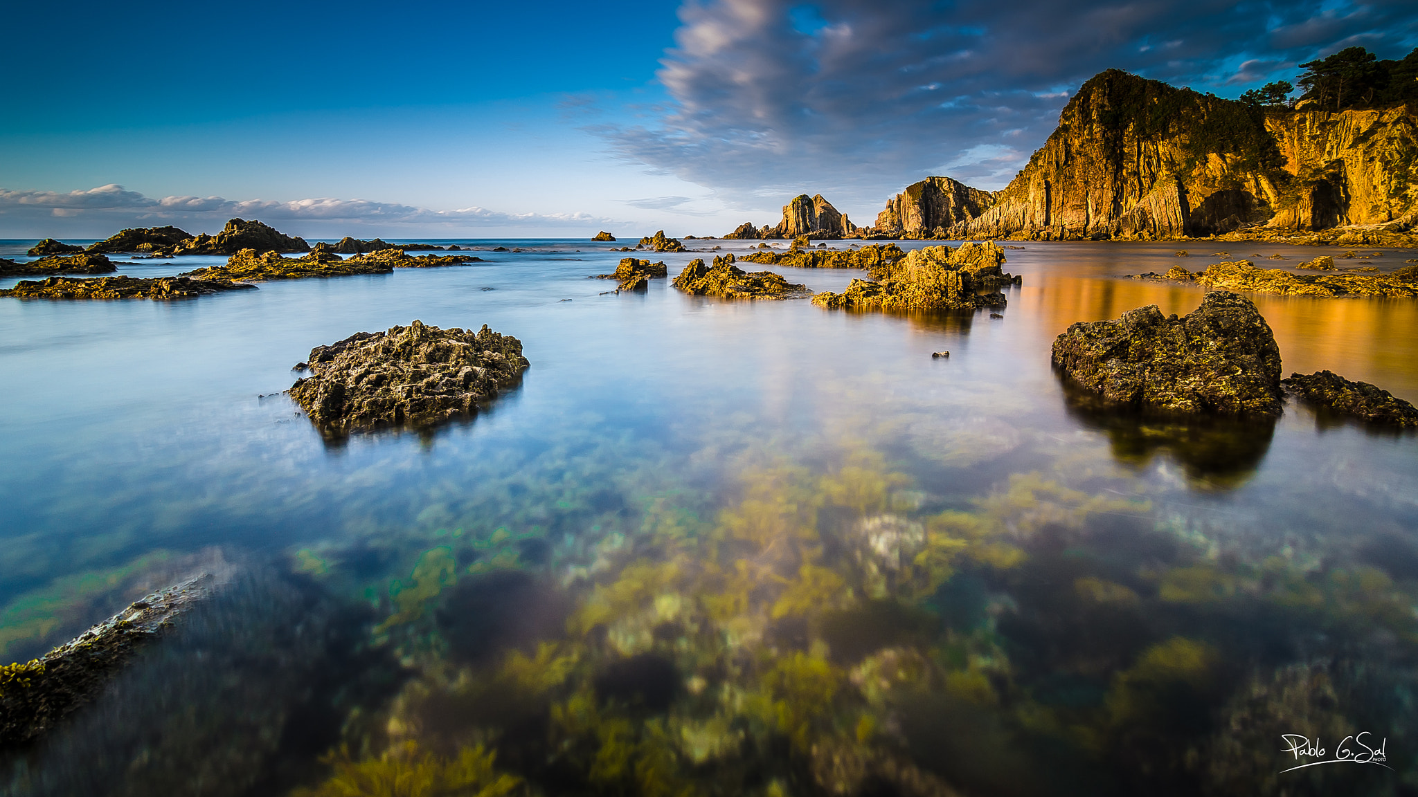 Photograph The Sea Garden by Pablo Gomez Sal on 500px