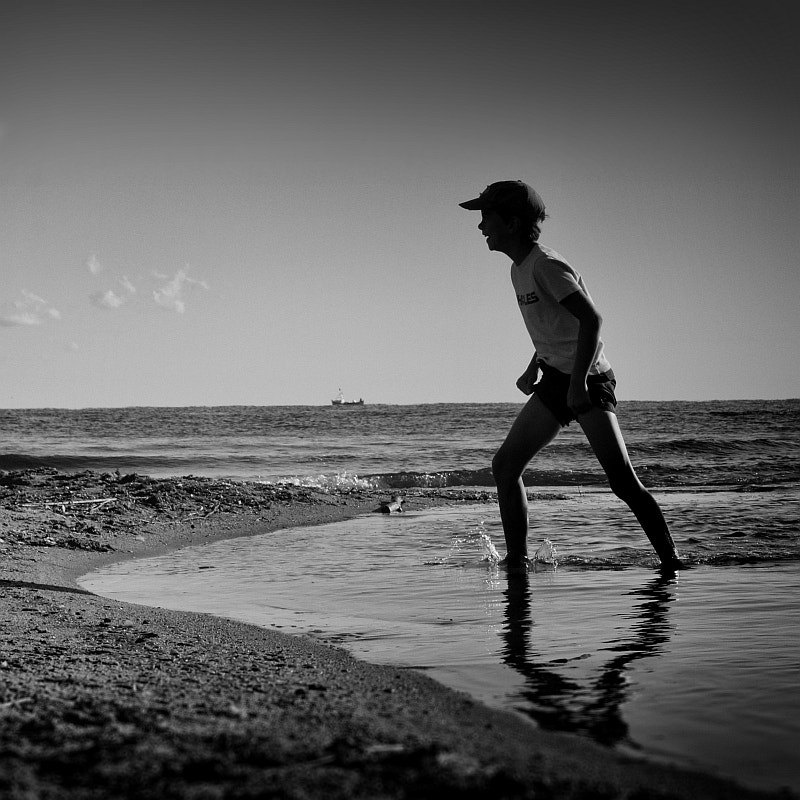 Photograph the boy and the sea by Vladimir Perfanov on 500px