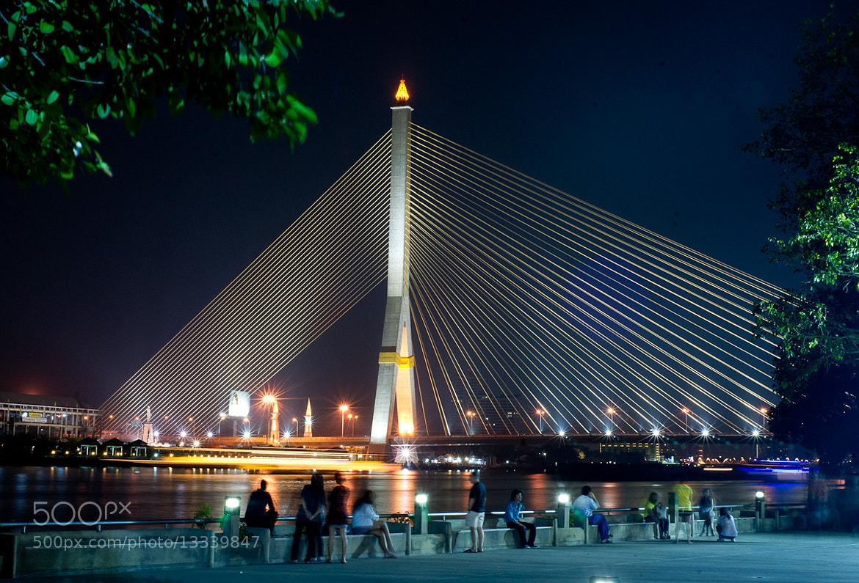 Photograph Rama VIII Bridge by Phlac Veer on 500px