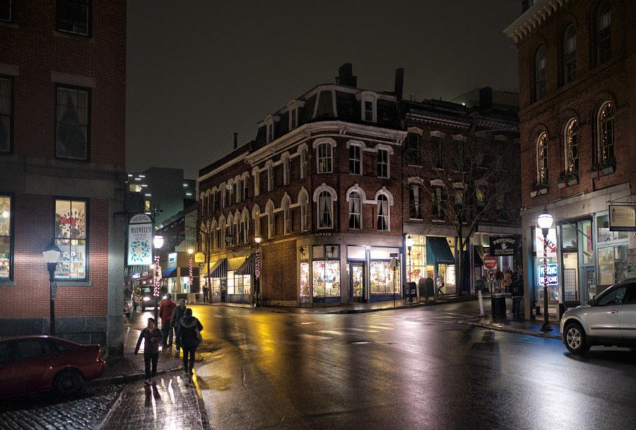 Downtown, Portland, Maine