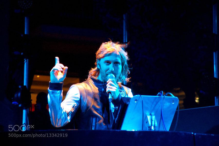 Photograph DAVID GUETTA by Steve Lorillere on 500px