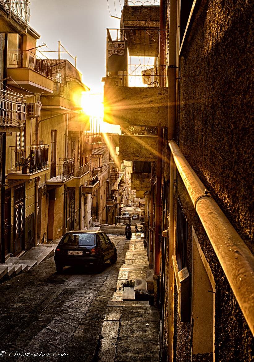 Photograph Sicilian Alley by Christopher Cove on 500px