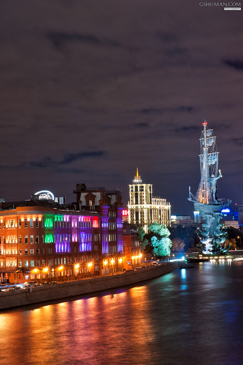 Photograph Night moscow by George Shuman on 500px