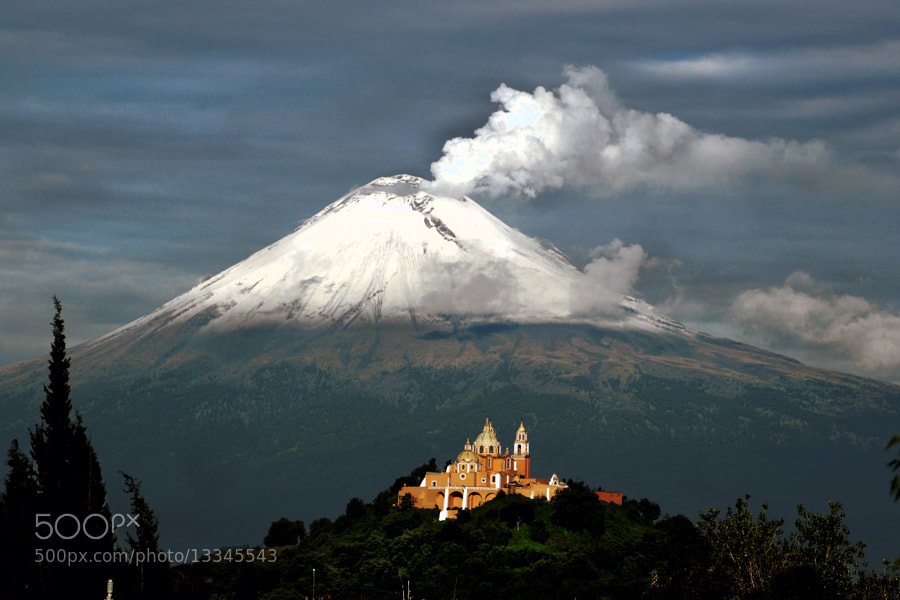 Photograph Big smoke  and church by Cristobal Garciaferro Rubio on 500px