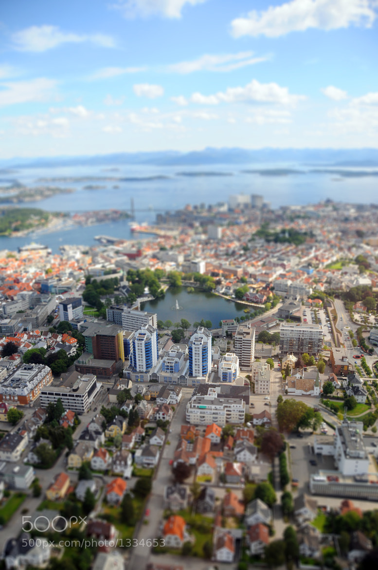Photograph Miniature Stavanger by Øyvind Balle on 500px