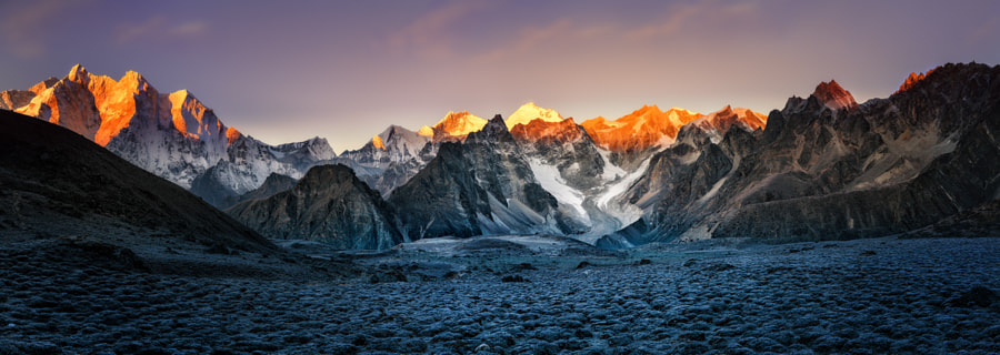 Himalayas Camp2 Sunrise by Bibi Bielekova on 500px.com