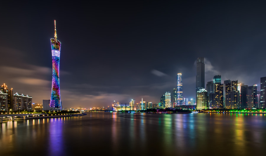 Pearl River, Guangzhou by Antoni Figueras on 500px.com