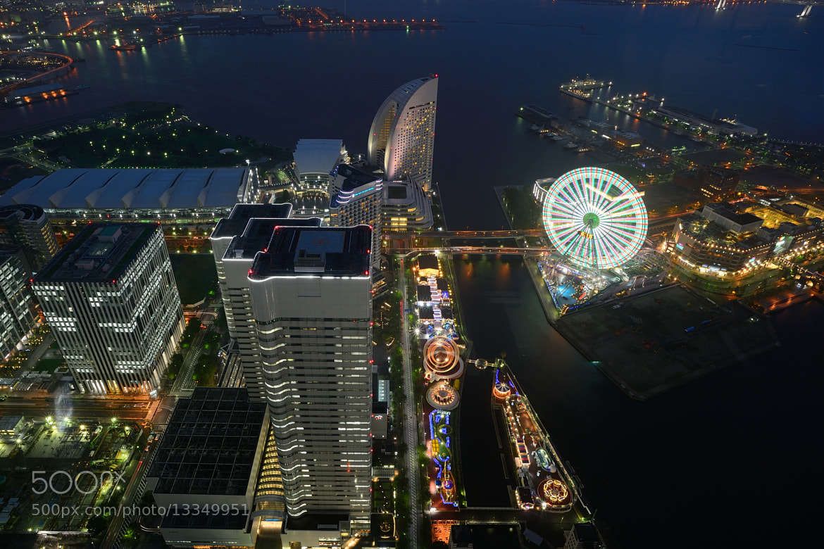 Photograph Yokohama Night by Ivan Tung on 500px