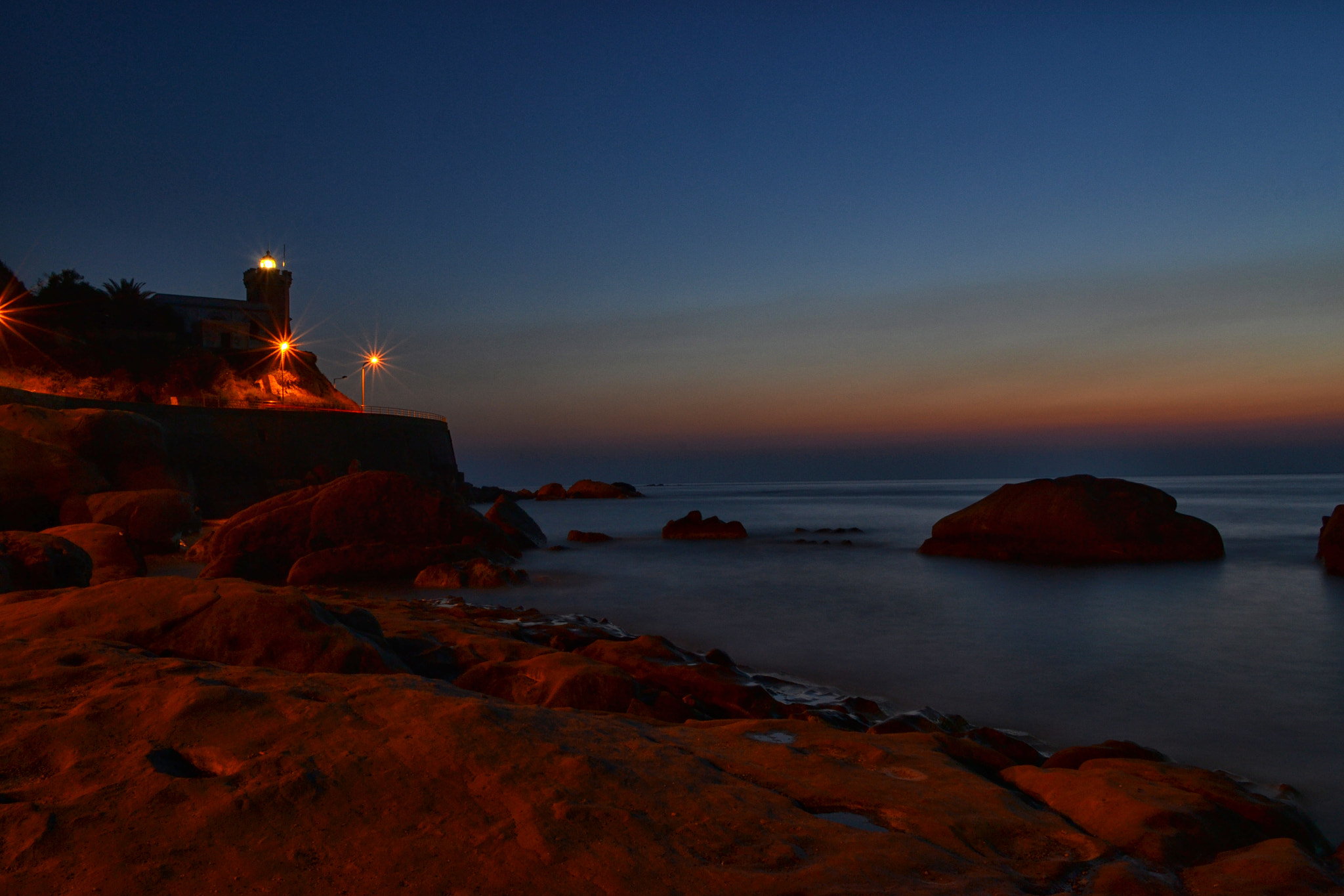 Photograph Lighthouse sunset by Salvo Mangiaglia on 500px