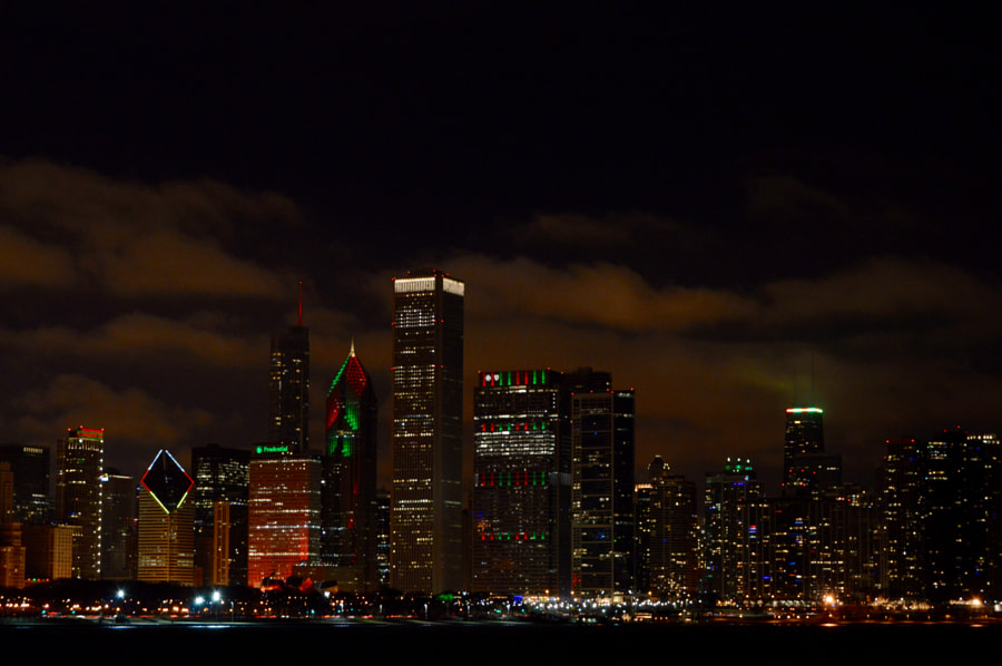 Chicago Christmas by Fumie Harrington on 500px.com
